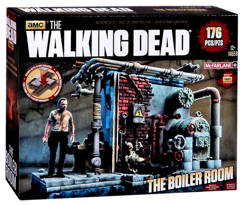 McFarlane Toys The Walking Dead Boiler Room Building Set #14558