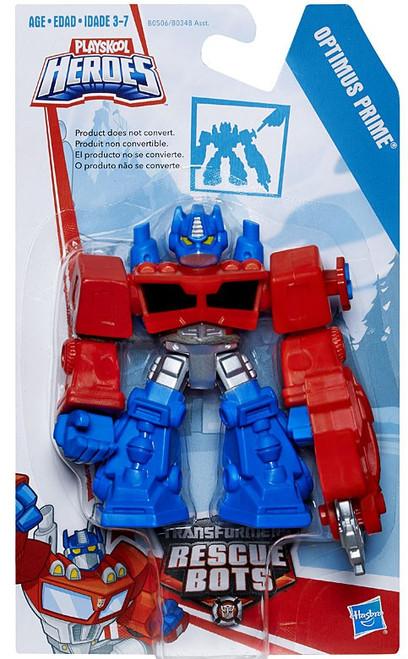Transformers Playskool Heroes Rescue Bots Optimus Prime Action Figure [2015, Version 2]