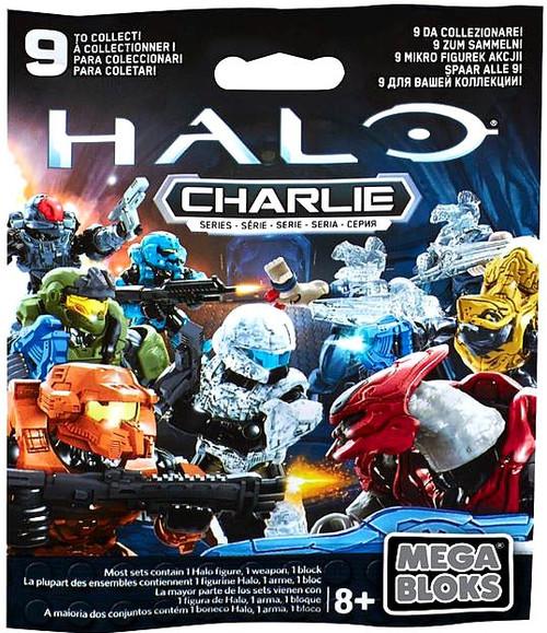 Mega Bloks Halo Charlie Minifigure Mystery Pack [1 RANDOM Figure]