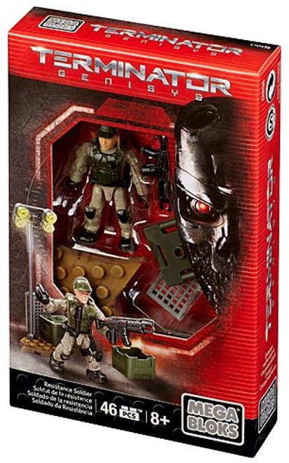 Mega Bloks Terminator Genisys Resistance Soldier Set #38205