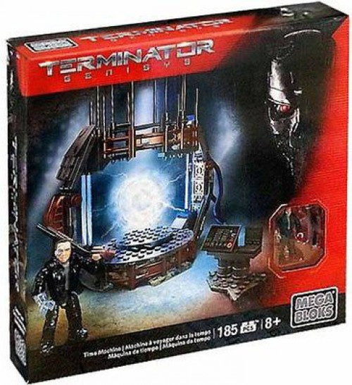 Mega Bloks Terminator Genisys Time Machine Set #38207