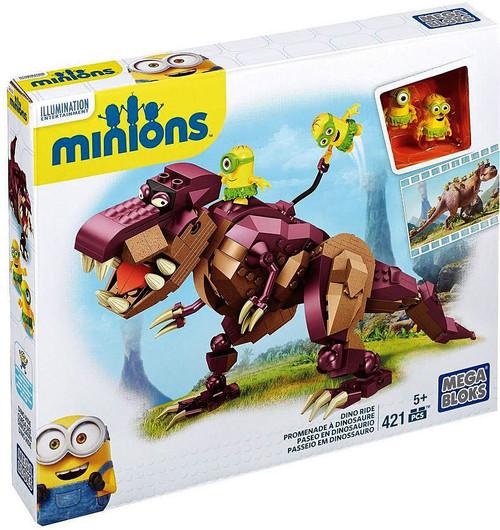 Mega Bloks Minions Dino Ride Set #38650