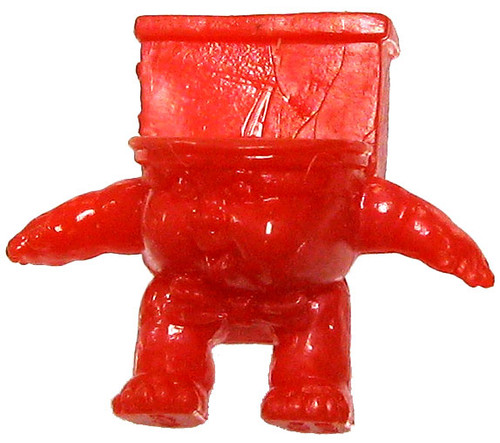 Garbage Pail Kids Topps MiniKins Series 2 Pete Seat 1-Inch 1:3 Minifigure #20 [Red]