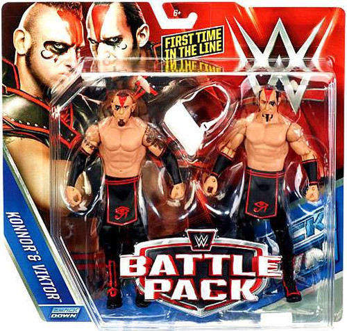 WWE Wrestling Battle Pack Series 37 Konnor & Viktor Action Figure 2-Pack [The Ascension]