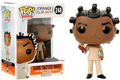 "Funko Orange is the New Black POP! TV Suzanne ""Crazy Eyes"" Warren Exclusive Vinyl Figure #248 [with Pie]"