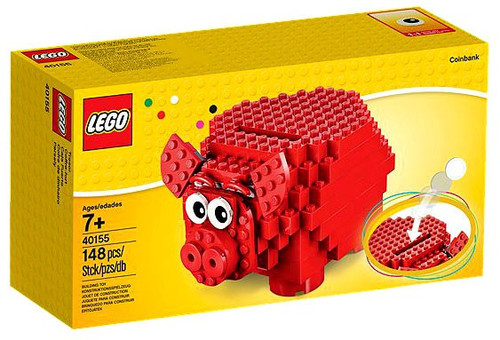LEGO Piggy Coin Bank Set #40155