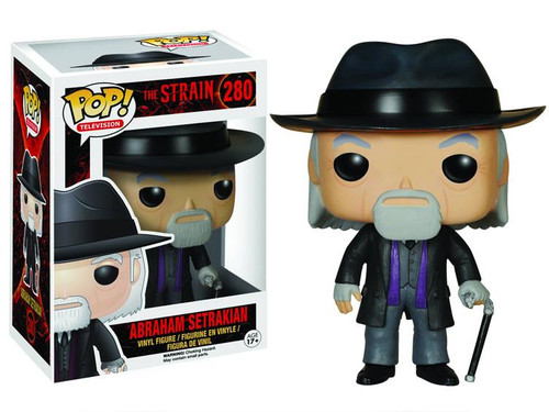 Funko The Strain POP! TV Abraham Setrakian Vinyl Figure #280