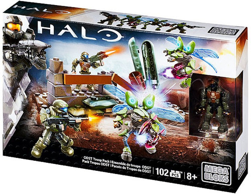 Mega Bloks Halo ODST Troop Pack Set #38168