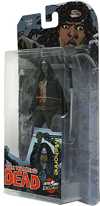 McFarlane Toys The Walking Dead Comic Michonne Exclusive Action Figure [Bloody Black & White]