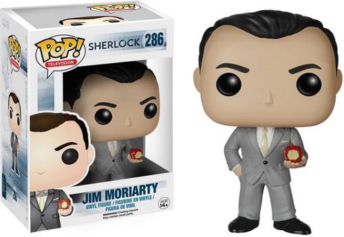 Funko Sherlock POP! TV Jim Moriarty Vinyl Figure #286