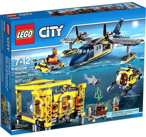 LEGO City Deep Sea Operation Base Set #60096