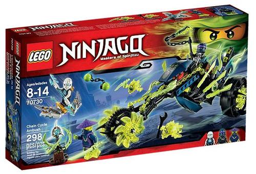 LEGO Ninjago Chain Cycle Ambush Set #70730