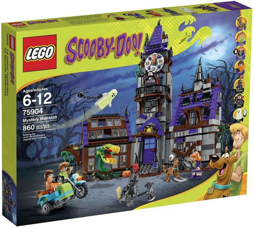 LEGO Scooby-Doo! Mystery Mansion Set #75904