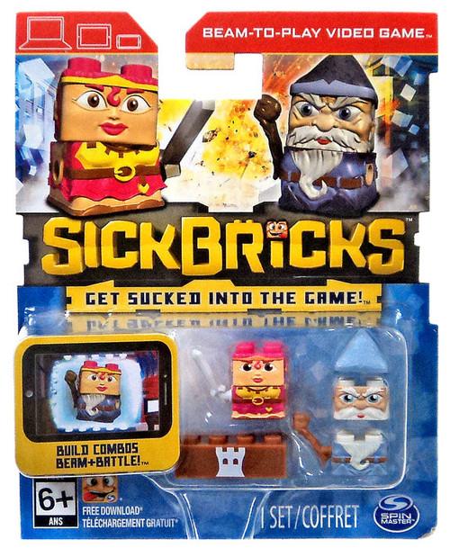 Sick Bricks Lavender Deathskirt & Wizzy Beardall Minifigure 2-Pack