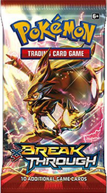 Pokemon Trading Card Game XY BREAKthrough Booster Pack [10 Cards]