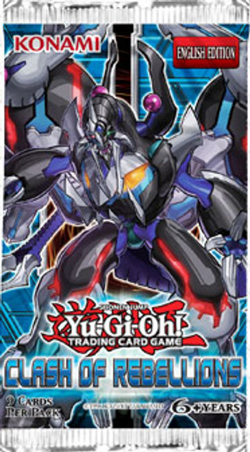 YuGiOh Trading Card Game Clash of Rebellions Booster Pack [9 Cards]