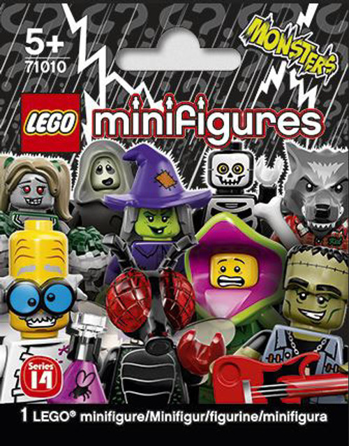 LEGO Minifigures Series 14 Monsters Mystery Pack