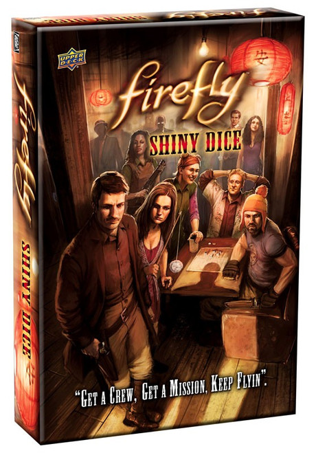Firefly Shiny Dice Board Game