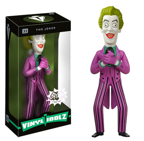 Funko DC 1966 Batman Vinyl Idolz Joker 8-Inch Vinyl Figure #32