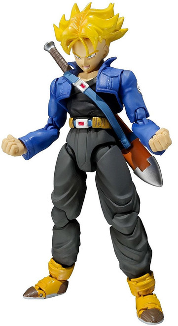 Dragon Ball Z S.H. Figuarts Trunks Action Figure [Premium Color Edition]