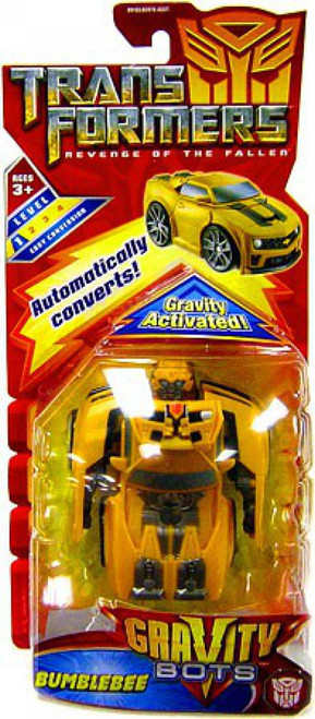 Transformers Revenge of the Fallen Gravity Bots Bumblebee Action Figure [Damaged Package, Mint Figures]