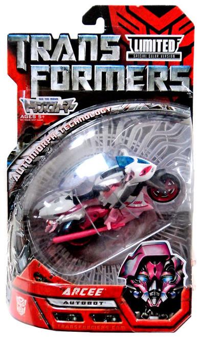 Transformers Movie Arcee Exclusive Deluxe Action Figure [Special Color Version]