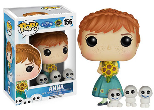 Funko Disney Frozen Frozen Fever POP! Movies Anna Vinyl Figure #156 [Frozen Fever]