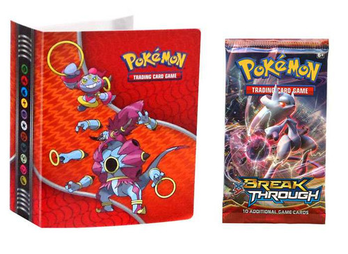 Ultra Pro Pokemon Trading Card Game XY BREAKthrough Collector's Mini Album [Includes Booster Pack!]