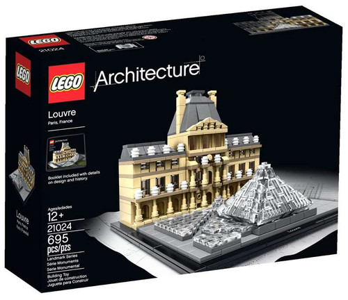 LEGO Architecture Louvre Set #21024