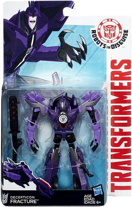 Transformers Robots in Disguise Decepticon Fracture Warrior Action Figure
