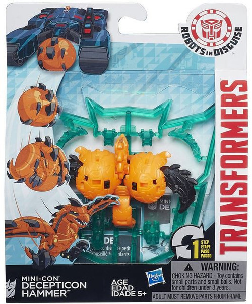 Transformers Robots in Disguise Mini-Con Decepticon Hammer Action Figure