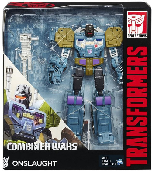 Transformers Generations Combiner Wars Onslaught Voyager Action Figure