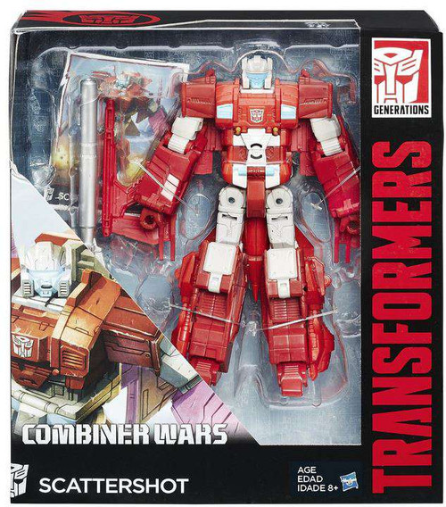 Transformers Generations Combiner Wars Scattershot Voyager Action Figure
