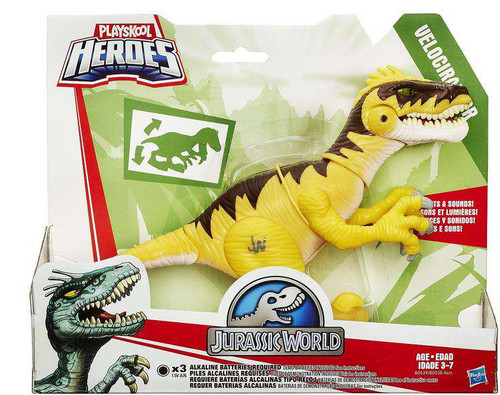 Jurassic World Playskool Heroes Chompers VELOCIRAPTOR Figure