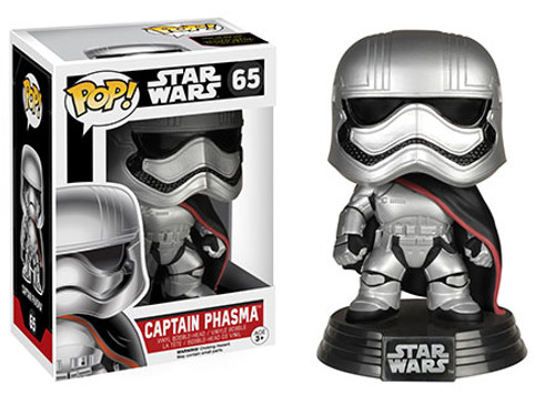 Funko The Force Awakens POP! Star Wars Captain Phasma Vinyl Bobble Head #65 [EP7]