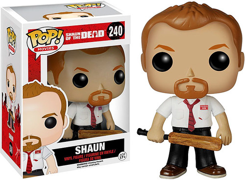 Funko Shaun of the Dead POP! Movies Shaun Vinyl Figure #240