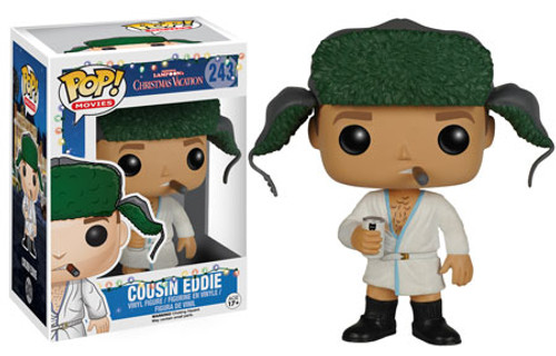 Funko National Lampoon's Christmas Vacation POP! Movies Cousin Eddie Vinyl Figure #242