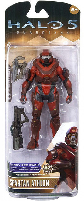 McFarlane Toys Guardians Spartan Athlon (Red) Action Figure