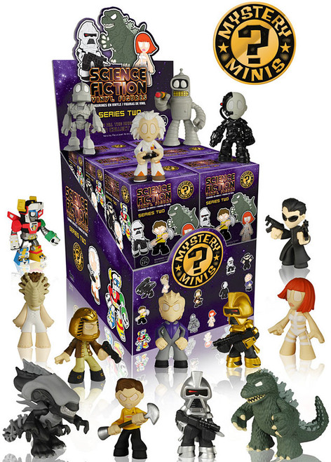 Funko Mystery Minis Science Fiction Series 2 Mystery Box [12 Packs]