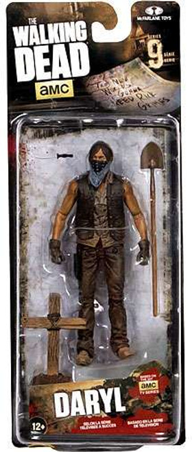 McFarlane Toys The Walking Dead AMC TV Series 9 Grave Digger Daryl Dixon Action Figure [Dirt Version]