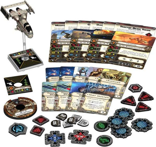 Star Wars X-Wing Miniatures Game Mist Hunter Expansion Pack