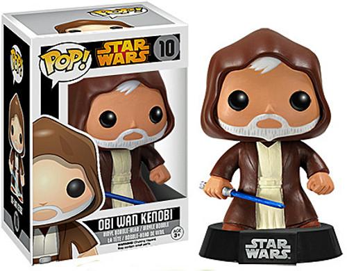 Funko POP! Star Wars Obi-Wan Kenobi Vinyl Bobble Head #10 [New Package]