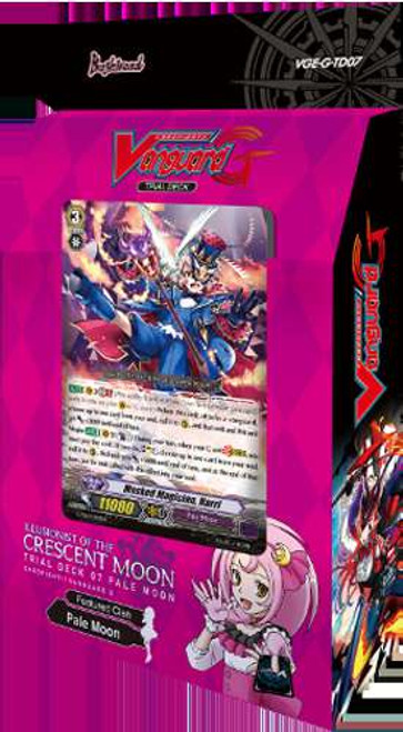 Cardfight Vanguard Trading Card Game Illusionist of the Crescent Moon Trial Deck VGE-G-TD07