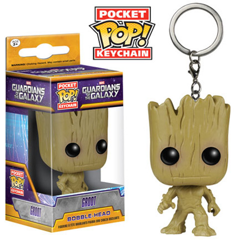 Funko Guardians of the Galaxy POP! Marvel Groot Keychain