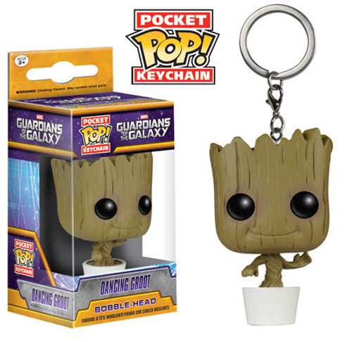 Funko Guardians of the Galaxy POP! Marvel Dancing Baby Groot Keychain