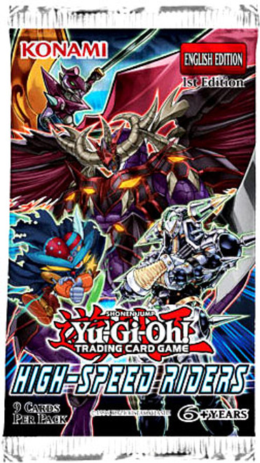 YuGiOh Trading Card Game High-Speed Riders Booster Pack