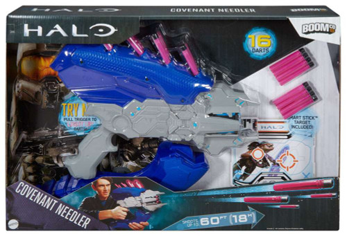Halo BOOMco. Covenant Needler Blaster Dart Blaster Toy