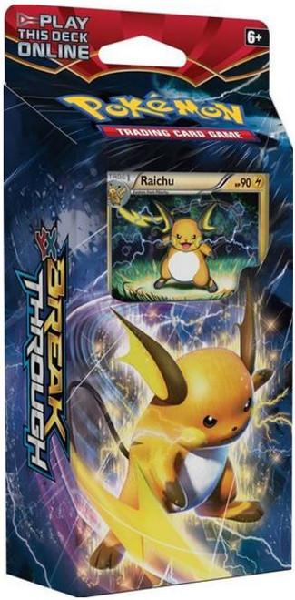 Pokemon Trading Card Game XY BREAKthrough Burning Spark Theme Deck [Raichu]
