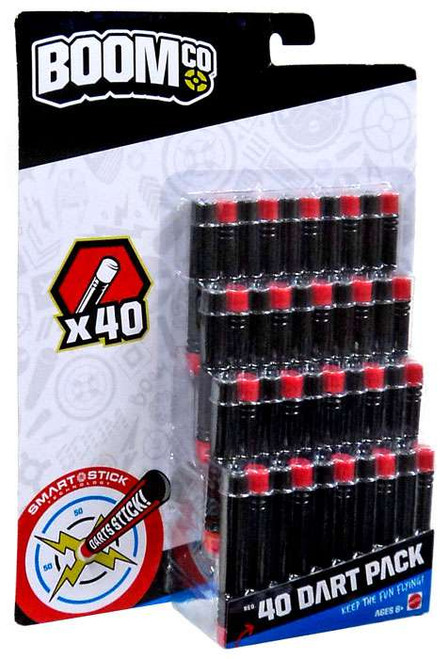 BOOMco 40 Dart Pack Roleplay Toy [Black & Red]