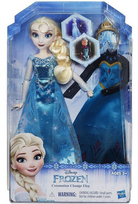 Disney Frozen Fashion Change Elsa Doll